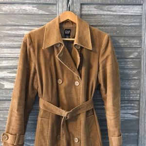 Vintage Gap Corduroy Trench Coat 🧥
